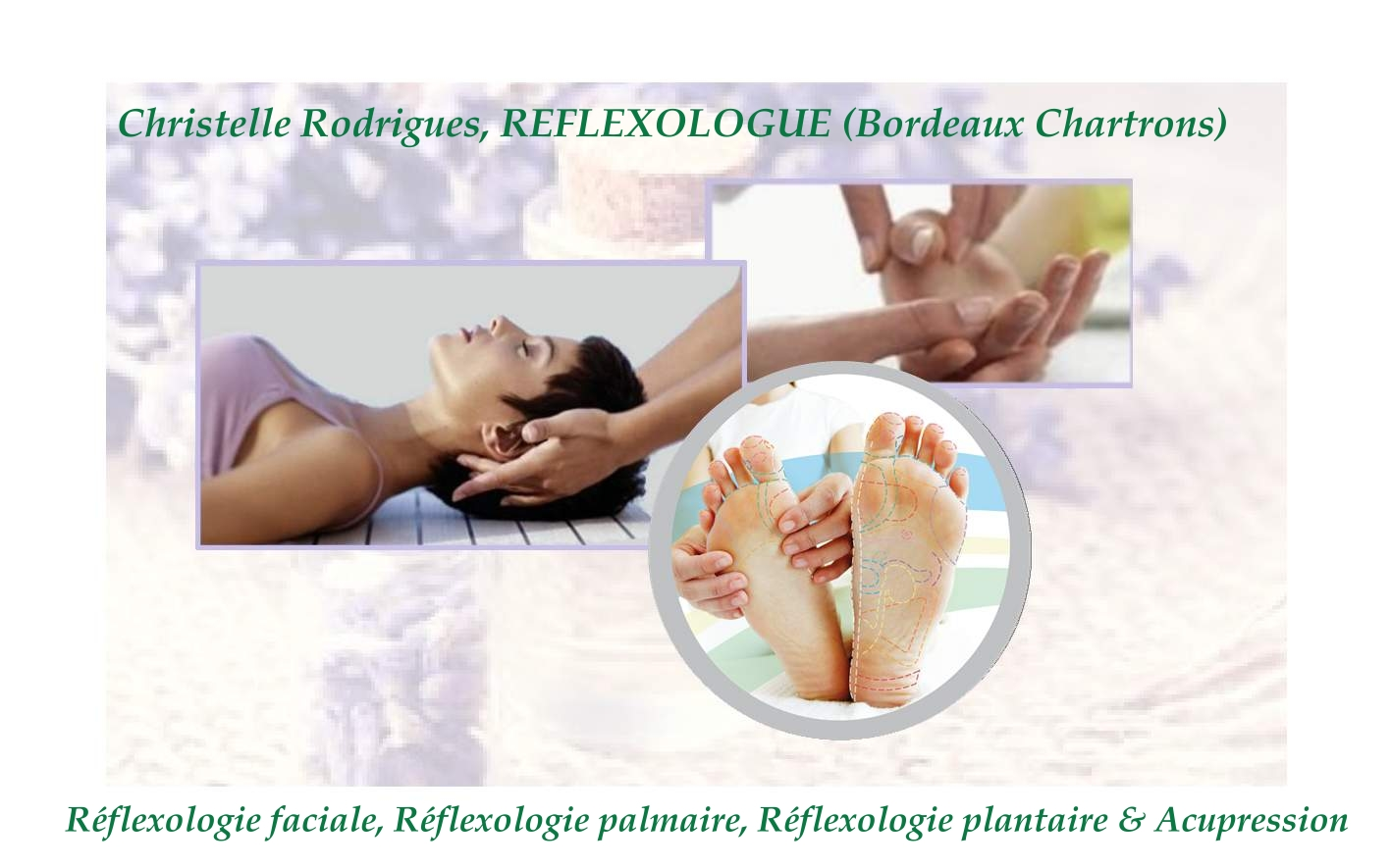 Logo réflexologue Christelle Rodrigues Bordeaux