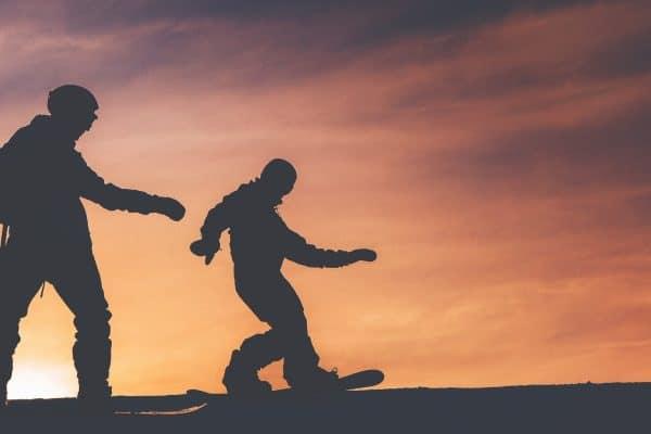 Snowboard débutant